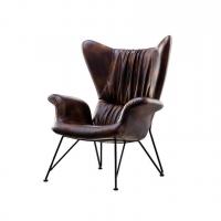 Solia (Солия) кресло экокожа коричневое