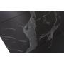 Albury стол раскладной стекло + МДФ 160-200 см чёрный