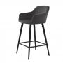Antiba полубарный стул тёмно-серый