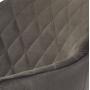 Antiba полубарный стул серо-коричневый