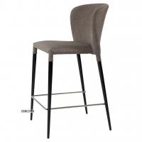 Arthur полубарный стул серый