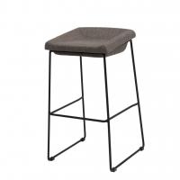 Coin полубарный стул серый