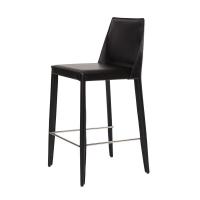 Marco полубарный стул чёрный