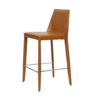 Marco полубарный стул светло-коричневый