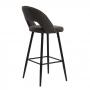 Taylor барный стул серый графит