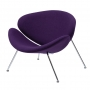 Foster кресло лаунж фиолетовое