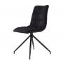 Weldon стул чёрный на чёрных ножках
