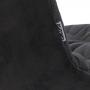 Weldon стул графит на чёрных ножках