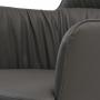 Sheldon кресло экокожа серый графит