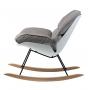 Serenity кресло-качалка серое