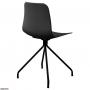 Velvet стул чёрный (чёрные ножки)