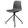 Velvet стул серый (чёрные ножки)