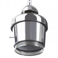 Glossy подвесной светильник серебристый