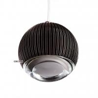 Ridge Glob подвесной светильник коричневый