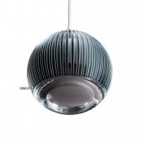 Ridge Glob подвесной светильник серебристый