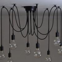 Spider Light 8 ламп подвесной светильник