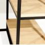 Cube письменный стол с двумя полками 120 см