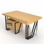 Angle Oak рабочий стол
