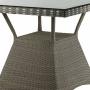 Ajour плетёный стол из ротанга