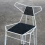 Fox стул металлический с фанерой