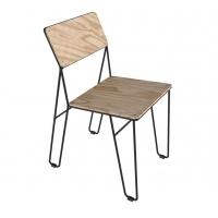 Grill Plywood (Гриль Фанера) стул металлический с фанерой
