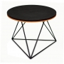 Crystal стол кофейный круглый