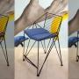 Thorn 1 металлическое кресло стандарт/полубар/бар с подушками