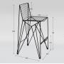 Thorn 2 металлический стул стандарт/полубар/бар с подушками