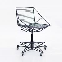 Thorn 3 (Колючка тип 3) металлический стул барный регулируемый