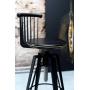 Antelope Black Back стул барный винтовой регулируемый чёрный