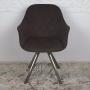 Almeria кресло поворотное коричневое