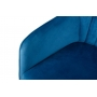 Benavente кресло - банкетка синяя