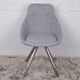Toledo Nic стул поворотный рогожка светло-серый