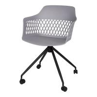 Lavanda Roll стул на колёсиках серый
