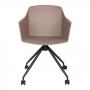 Magnolia Roll стул на колёсиках мокко
