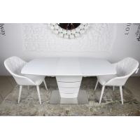 Atlanta стол раскладной 120-160 см белый