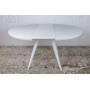 Austin стол раскладной 110-145 см белый