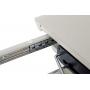 Barrie стол раскладной 120-160 см белый