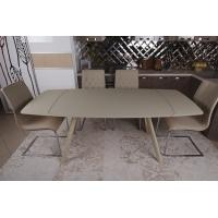 Chester (Честер) стол раскладной 140-200 см бежевый