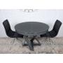 Edinburh стол раскладной 110-155 см графит