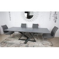 Fleetwood (Флитвуд) стол раскладной 160-240 см керамика мокрый асфальт
