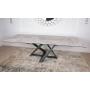 Fleetwood New стол керамика 160-240 см светло-серый глянец