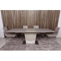 Michigan (Мичиган) стол раскладной 180-230 см стеклокерамика мокко