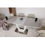 Ottawa стол 140-180 см керамика белый