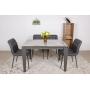 Alta раскладной стол 120-170 см керамика серый глянец