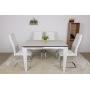 Alta раскладной стол 120-170 см керамика белый матовый