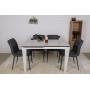 Alta раскладной стол 120-170 см керамика белый
