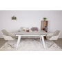 Calgary раскладной стол 160-230 см керамика белый