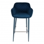 Bavaria барный стул синий