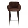 Bavaria барный стул коричневый